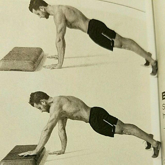How to do: Low Box Plank Stepper - Step 1