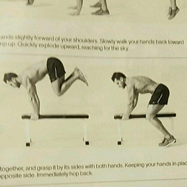 How to do: Bench Hop - Step 1
