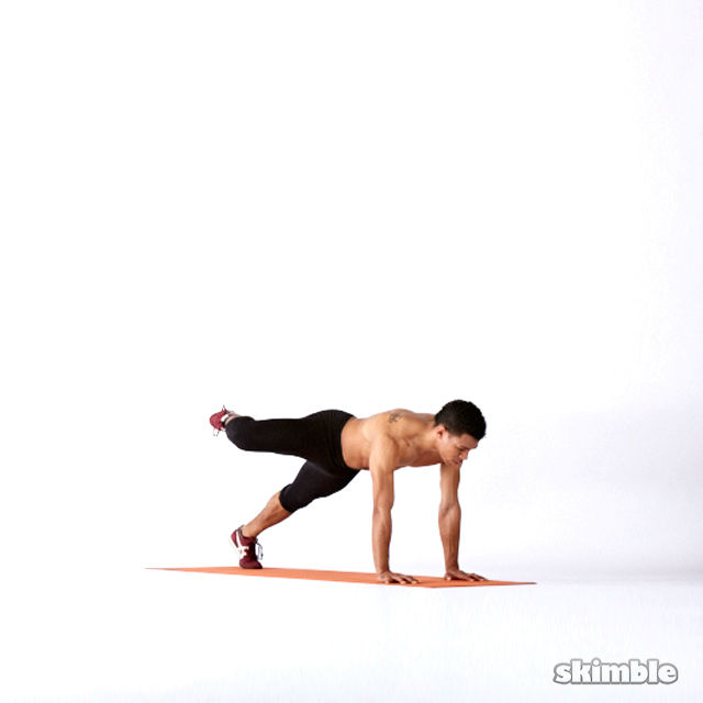 How to do: Plank Hip Rotations - Step 3