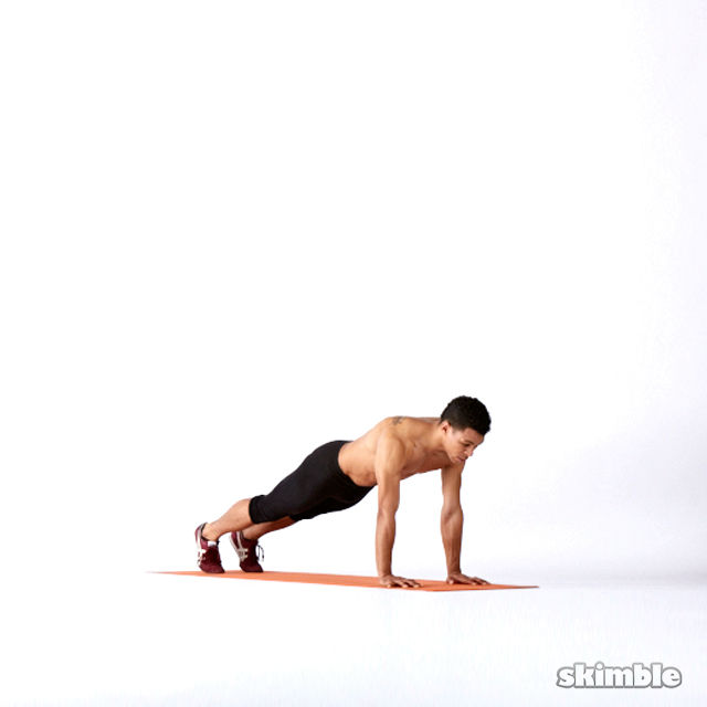 How to do: Plank Hip Rotations - Step 1