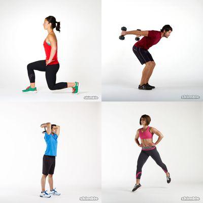 All around workout