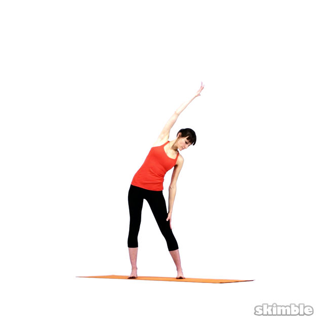 How to do: Yoga Sidebends - Step 8