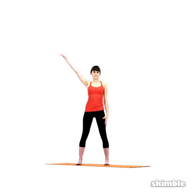 How to do: Yoga Sidebends - Step 7