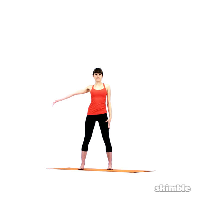 How to do: Yoga Sidebends - Step 6