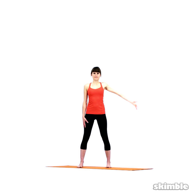 How to do: Yoga Sidebends - Step 2