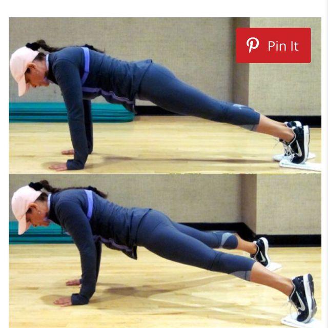 How to do: Scissor Leg Plank - Step 1