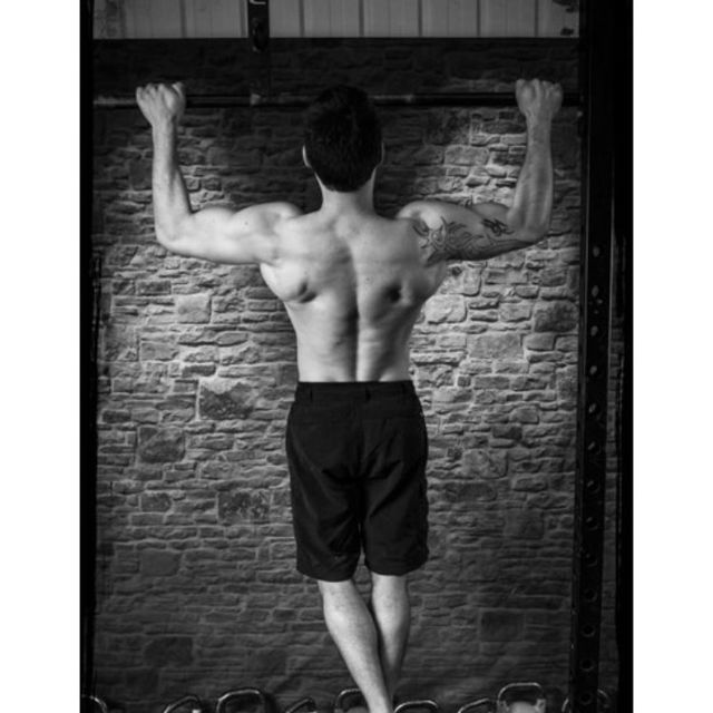 How to do: Wide Arm Pull-up - Step 1