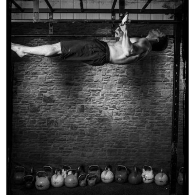 How to do: Horizontal Pull-up - Step 1
