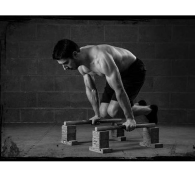 How to do: Straight Back Planche Hold - Step 1