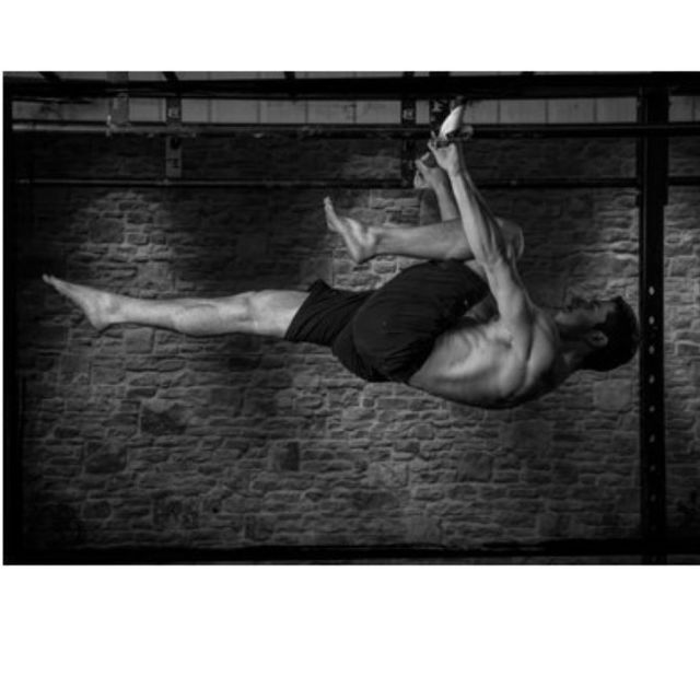 How to do: Single Lane Front Lever - Step 1