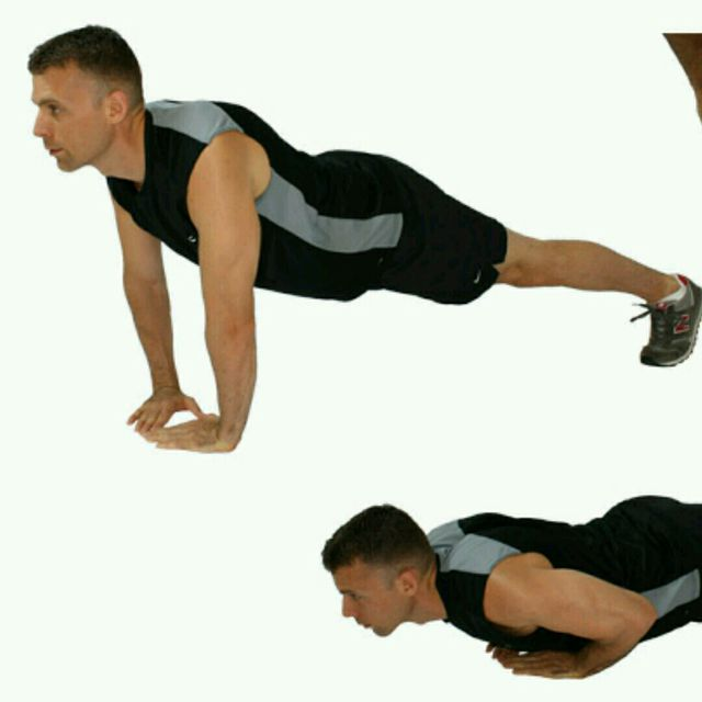 How to do: Tricep Pushups - Step 1