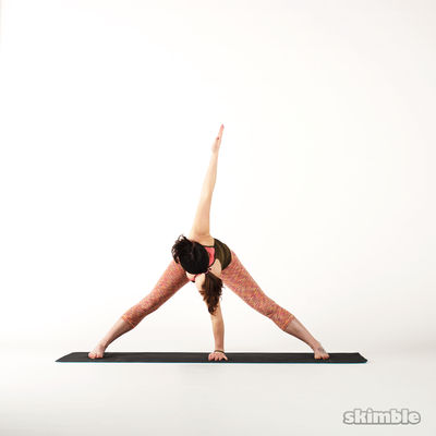 Wide Leg Stretches