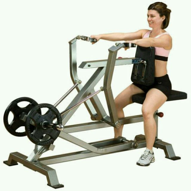 How to do: Row Machine - Step 1