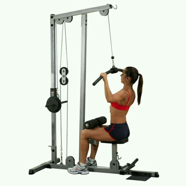 How to do: Lat Pulldown - Step 1