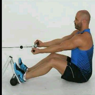 Underhand Grip Seated Row