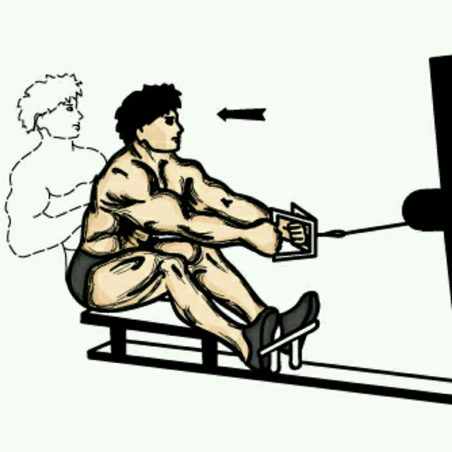 How to do: Close Grip Seated Row - Step 1