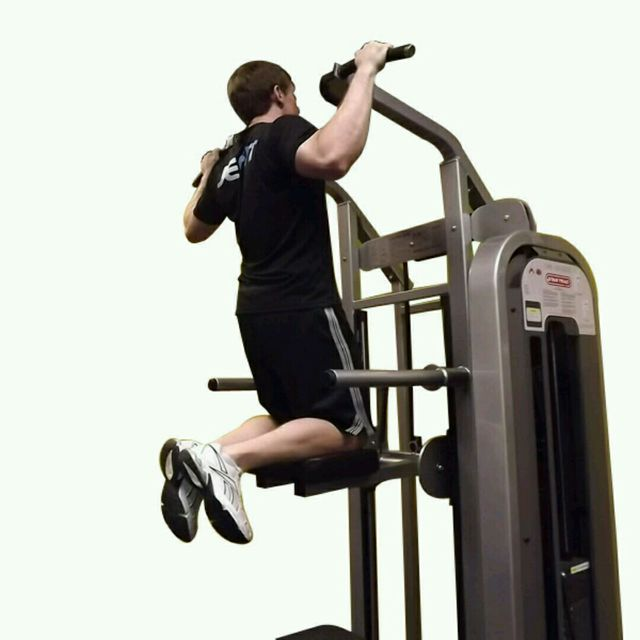 How to do: Assisted Pull Up - Step 1