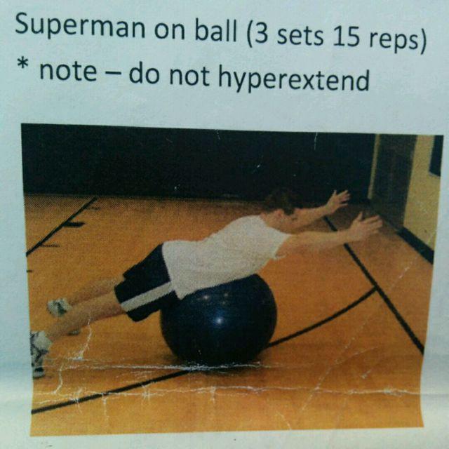 How to do: Superman - Step 1