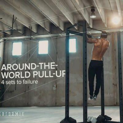 Around the World Pull Up