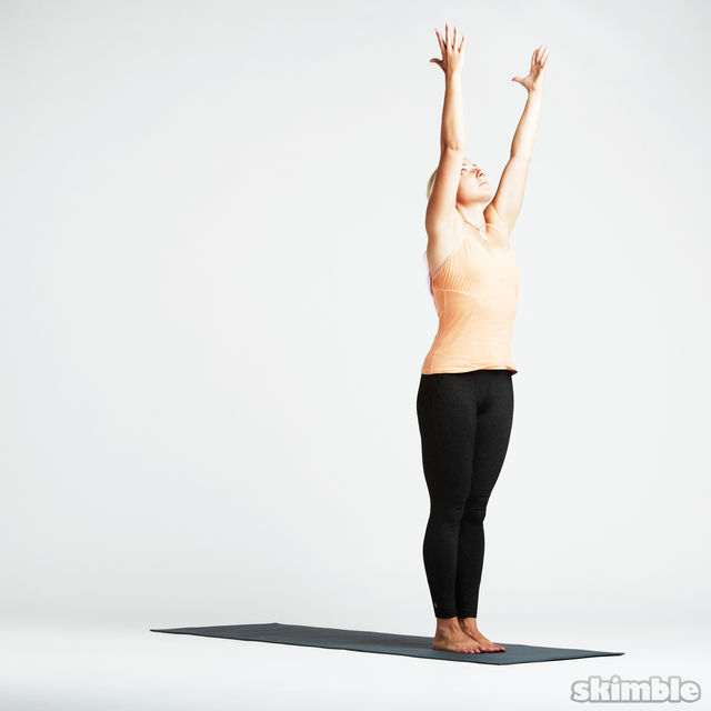 How to do: Basic Sun Salutation - Step 1