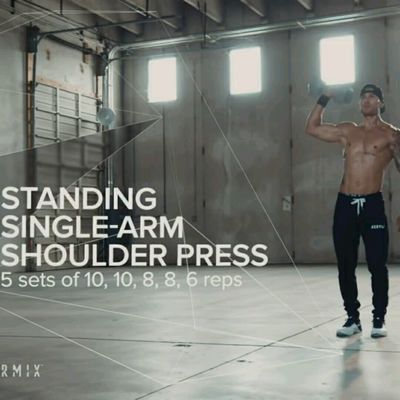Dumbell One Arm Shoulder Press