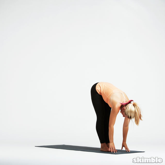 How to do: Basic Sun Salutation - Step 2