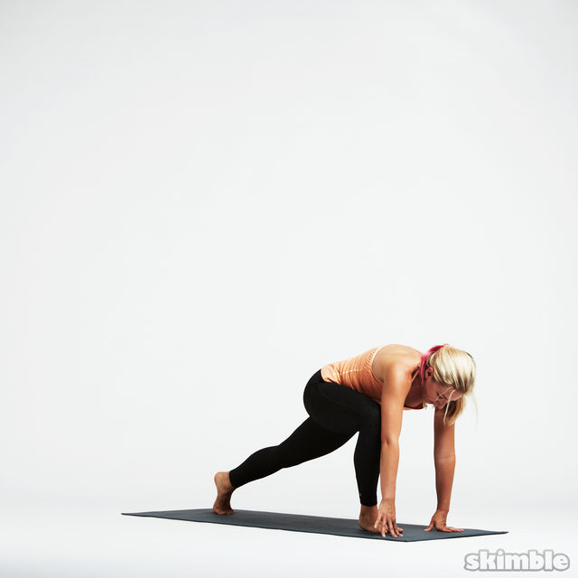 How to do: Basic Sun Salutation - Step 11