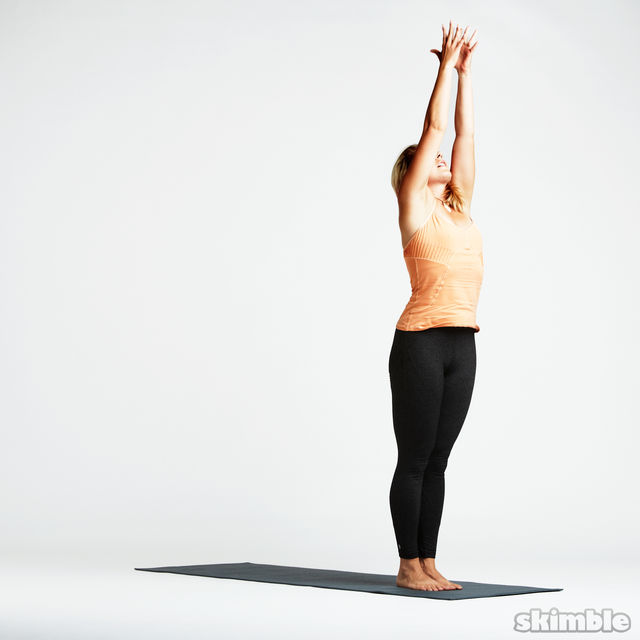 How to do: Basic Sun Salutation - Step 13