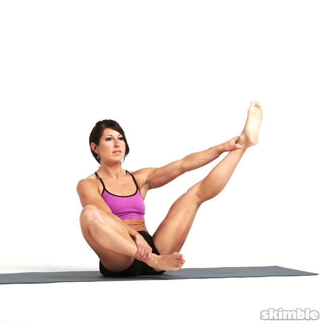How to do: Butterfly with Leg Extension - Step 1