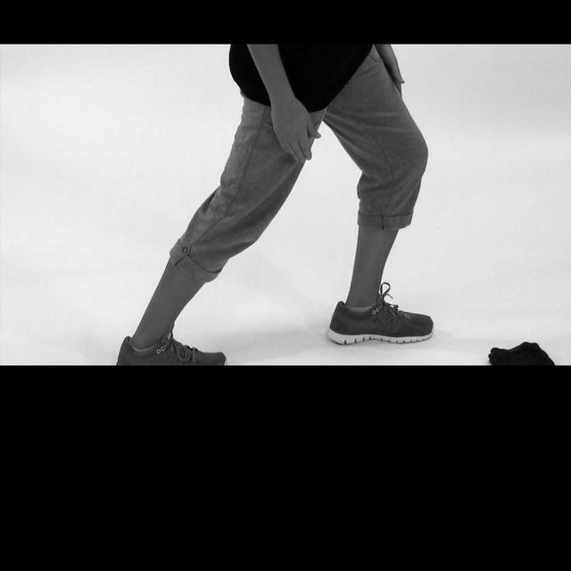 How to do: Standing Calf Stretch - Step 1