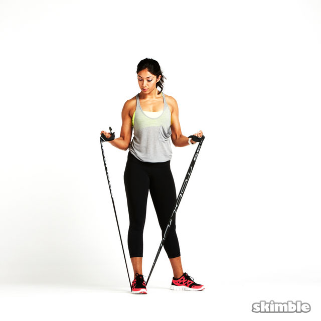 Free Full Body with Resistance Band
