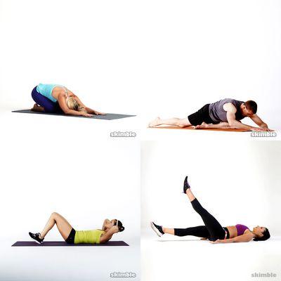 Ab + Calm Yoga 30