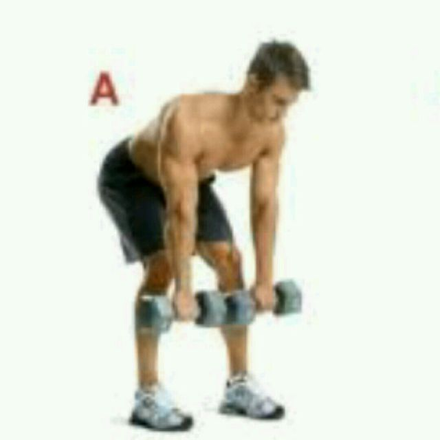 How to do: Bent Over Dumbbell Rear Deltoid Row - Step 1