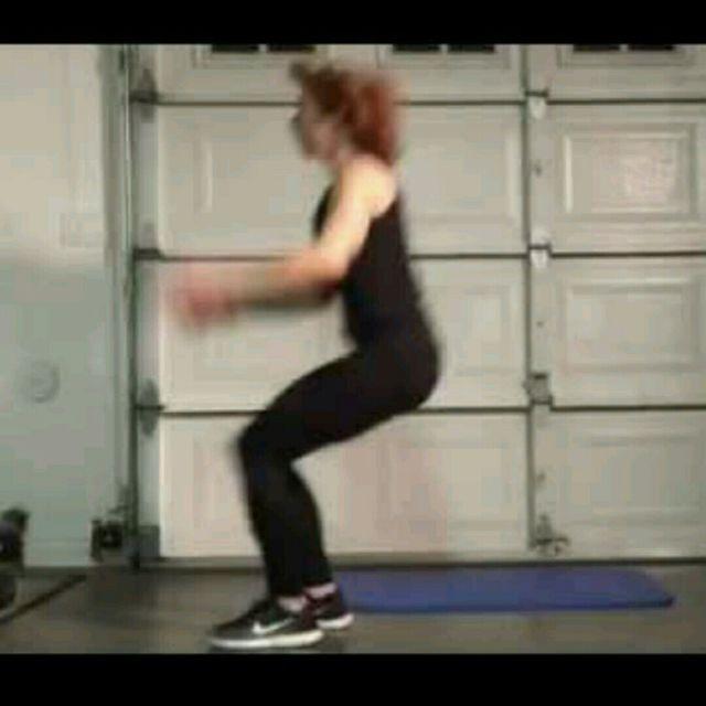 How to do: Long Jump Run Back - Step 1