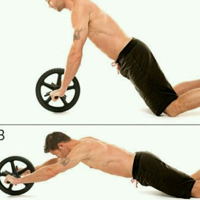 How to do: Ab Roller - Step 1