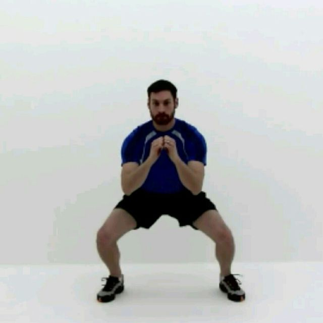 How to do: Squat Jackss - Step 1