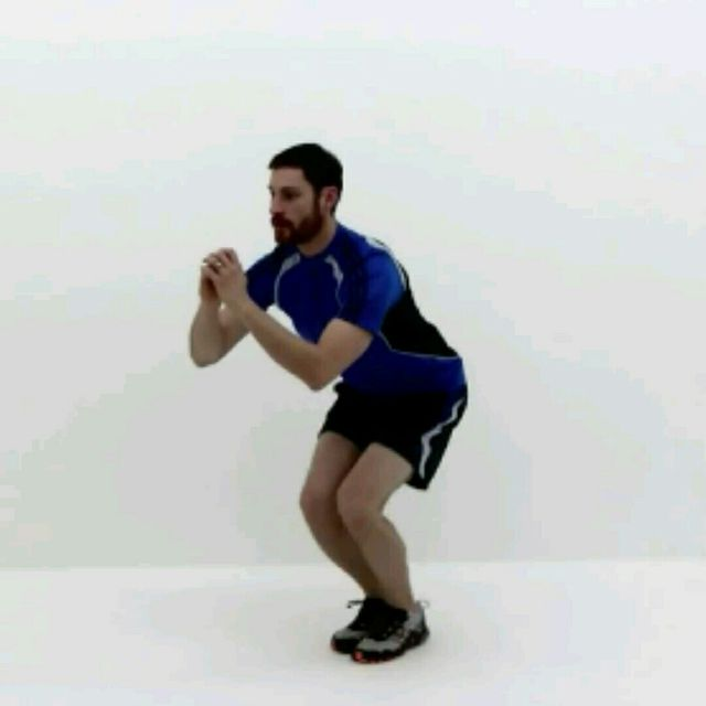 How to do: Squat Jackss - Step 4