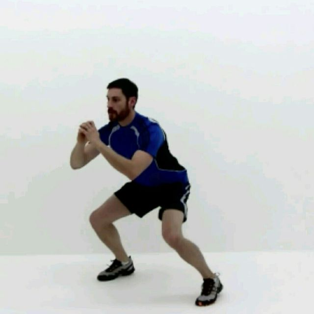 How to do: Squat Jackss - Step 3