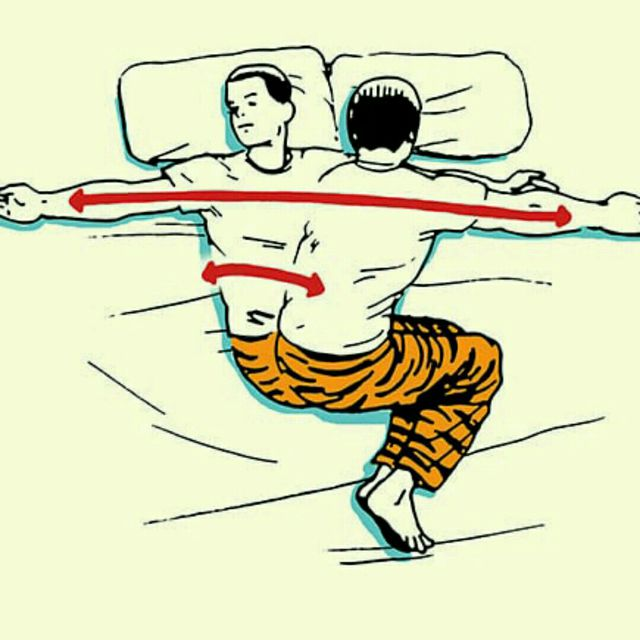 How to do: Side Lying Reach - Step 1