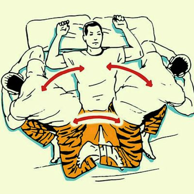 90/90 Rotational Sit-Up
