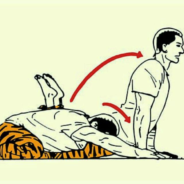 How to do: Rocking Flexion/Extension - Step 1