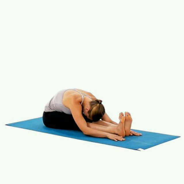 How to do: Seated Forward Fold - Step 1