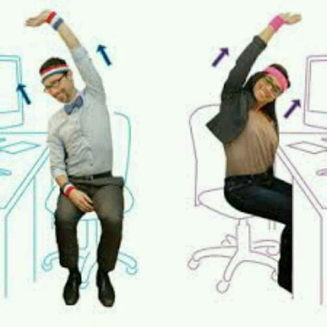 Office Stretches And Eye Exercices