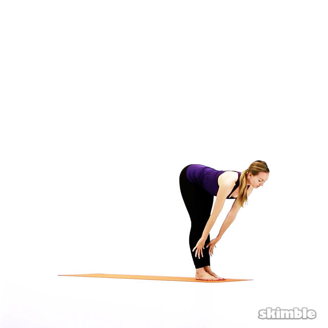 How to do: Modified Vinyasa Flow - Step 4