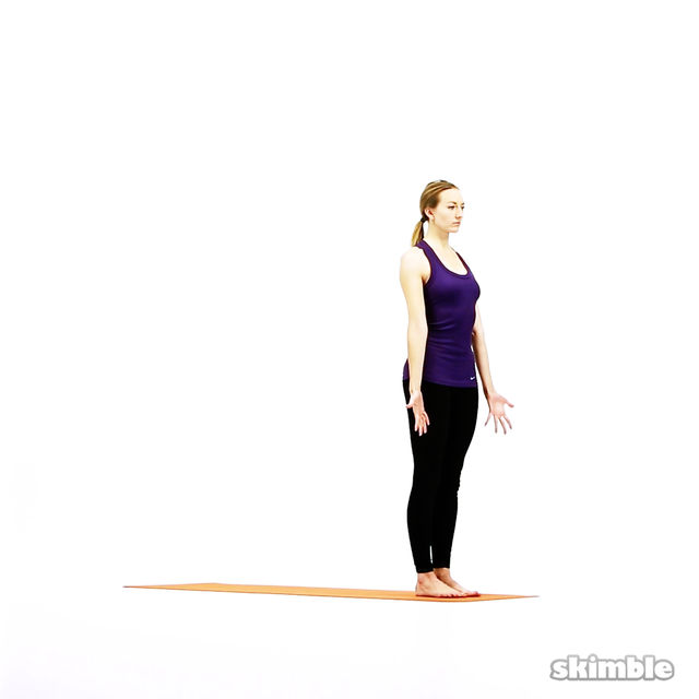 How to do: Modified Vinyasa Flow - Step 1