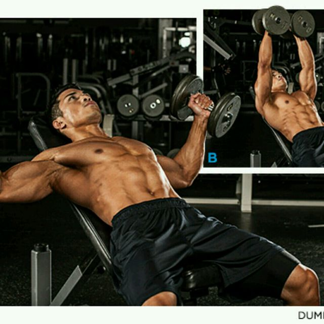 How to do: Dumbbells Flyes - Step 1