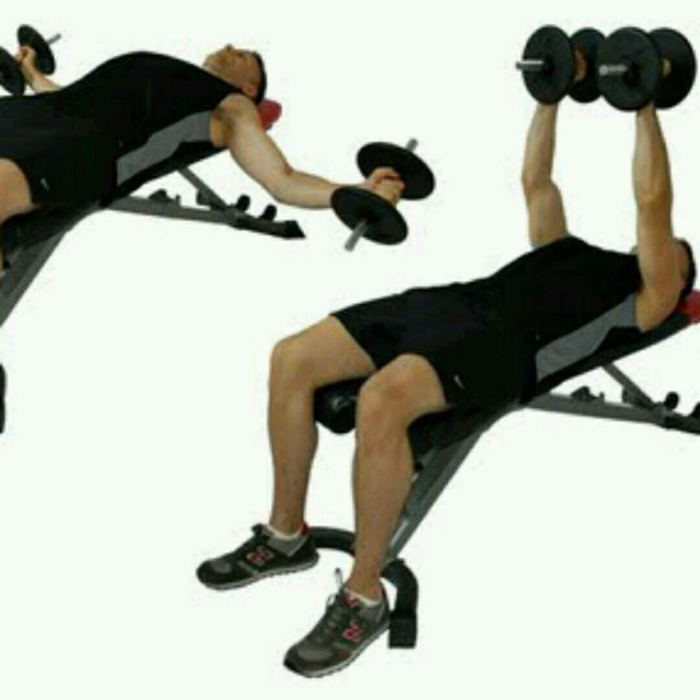 Incline Dumbbell Flyes Exercise How To Workout Trainer