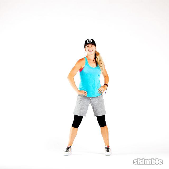 How to do: Hip Pops - Step 4