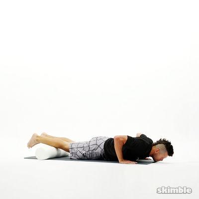Shin Rolls with Push-Ups