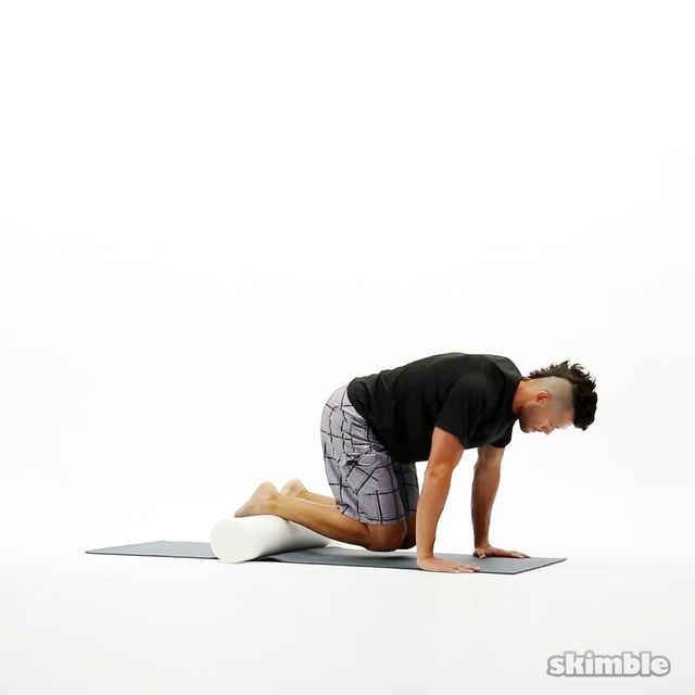 How to do: Shin Rolls with Push-Ups - Step 1